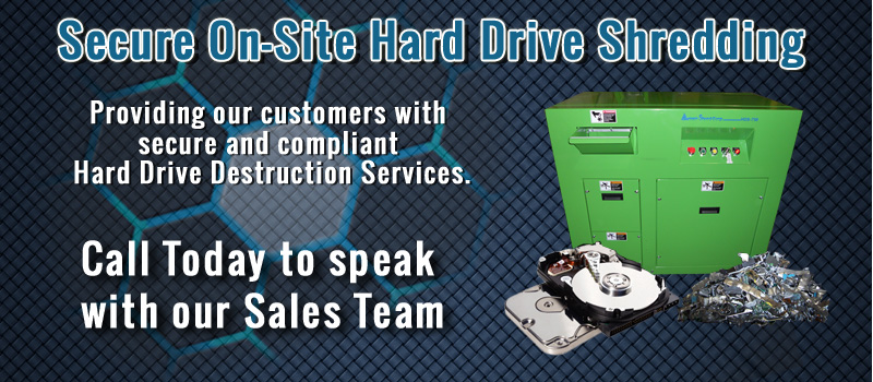 Certified On-Site Data Destruction